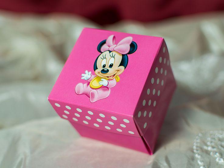 Invitatie de botez cu Minnie Mouse 3621b by InvitatiiCreative.deviantart.com on @DeviantArt