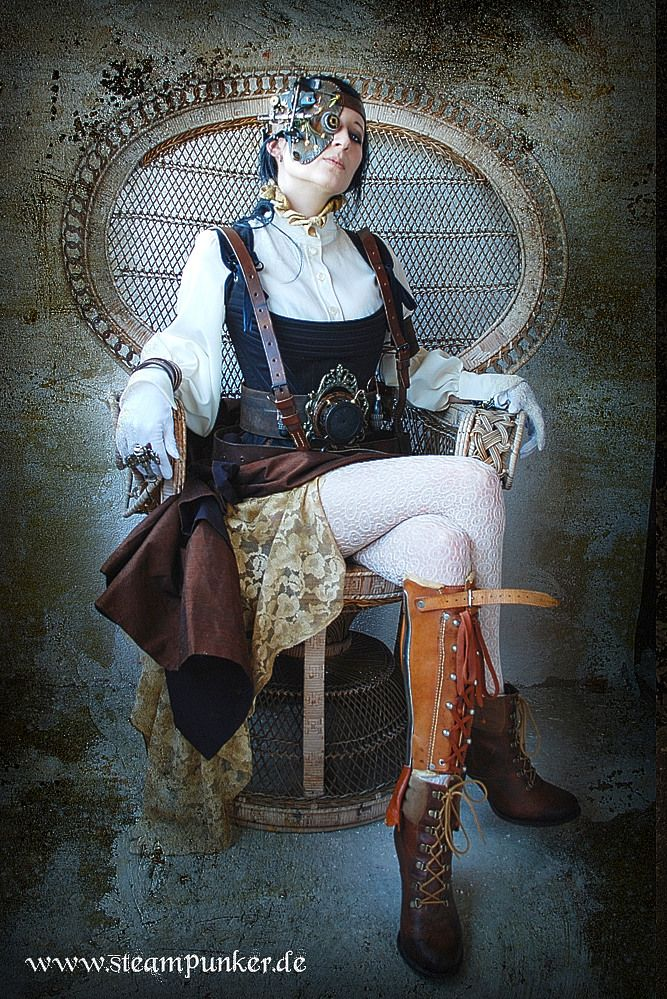 Steampunk Outfit Countess 01 de steampunker