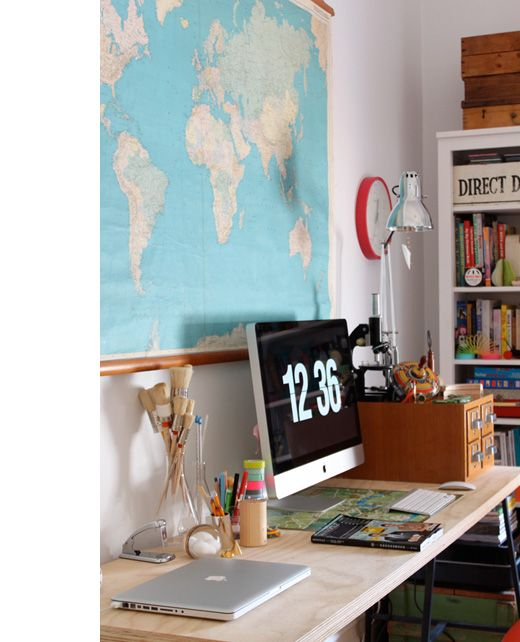 mapImac Desks, Modern Workspaces, Offices Spaces, Computers Desks, Work Spaces, Mac Offices, Desks Spaces, Business Workspaces, Imac Workspaces