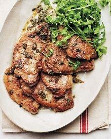 Pork Scaloppine - Martha Stewart Recipes