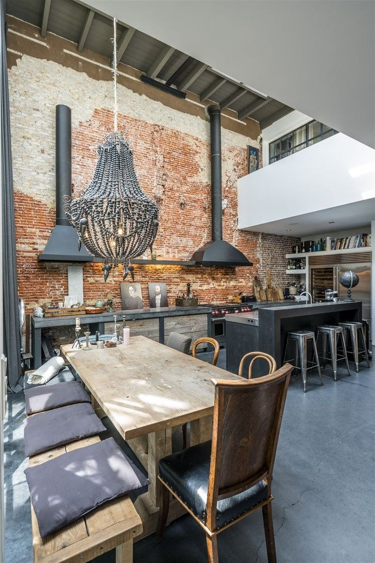 An amazing industrial loft in the center of Amsterdam.