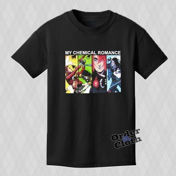 This My Chemical Romance Comic Book T-shirt