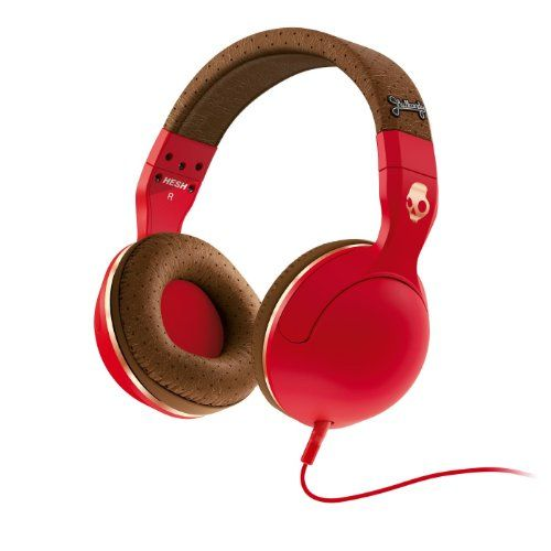 Music Headphones - Pin it :-) Follow us, CLICK IMAGE TWICE for Pricing and Info . SEE A LARGER SELECTION of music headphones at http://azgiftideas.com/product-category/music-headphones/  - gift ideas -  Skullcandy Hesh 2 Headphones w/Mic Red/ Brown/Copper, One Size