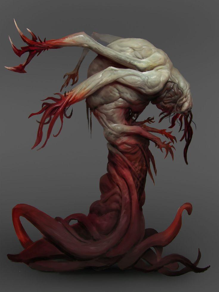 Creature Finals 1 by Robotpencil.deviantart.com on @DeviantArt
