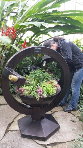Captivating Kaleidoscope Planter! I Woul Love One In My Yard! Nicholas Conservatory U0026  Gardens In