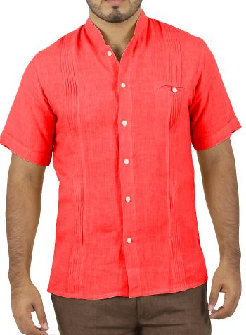 Camisa Casual color Coral