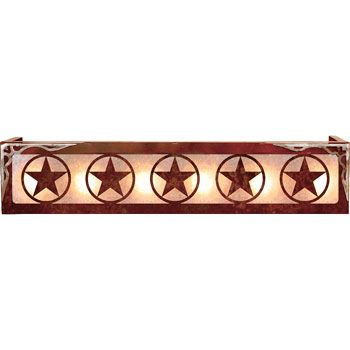 The Texas Star Vanity Is A Wonderful Addition To A Ranch House Bathroom  Decor. Circle