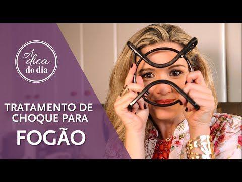 COMO LIMPAR GRADE DE FOGÃO - A Dica do Dia - YouTube
