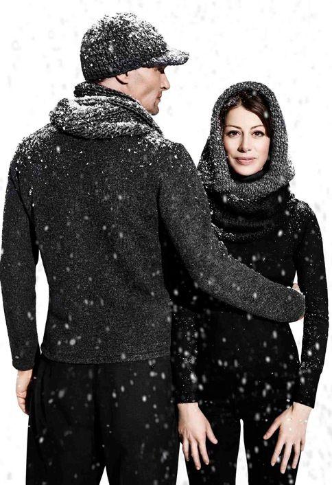 Nieuw in ons assortiment: grof gebreide mutsen en sjaals. Helemaal de trend dit najaar !