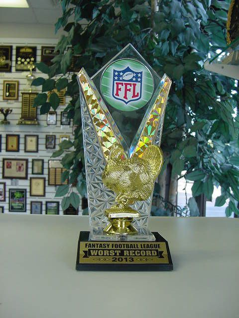 10 Best Fantasy Football Trophies Images On Pinterest