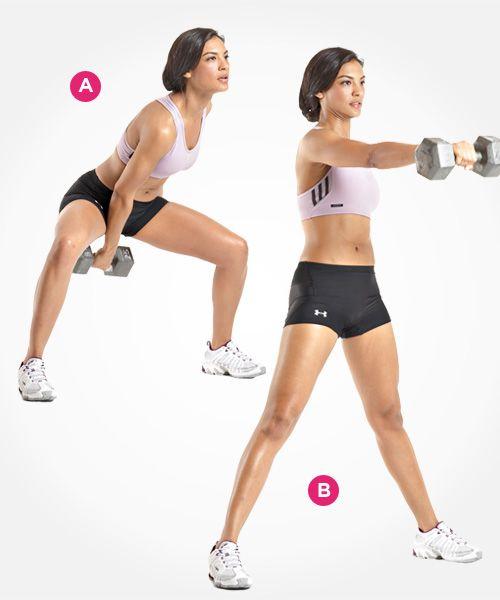 Single-Arm Dumbbell Swing  http://www.womenshealthmag.com/fitness/best-butt-exercises/slide/8