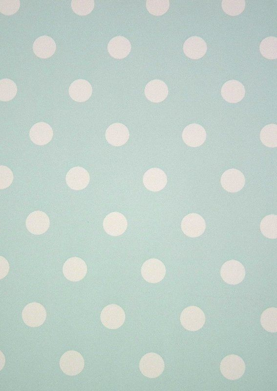 Polka Dot Wallpaper Turquoise Home Ideas Pinterest