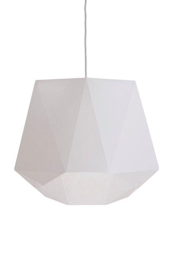 A3 Paper Origami Lamp