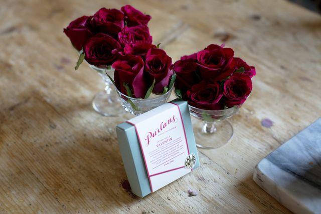 Alla hjärtans dag – rosa rosor och champagne