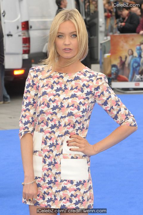 """Laura Whitmore """"X-Men: Days Of Future Past"""" UK Premiere at Odeon Cinema http://icelebz.com/events/_x-men_days_of_future_past_uk_premiere_at_odeon_cinema/photo17.html"""
