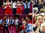Team GB's Men's Gymnastic team first GB gymnastics men's medal in 88 years - awesome