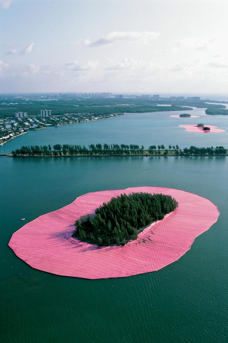 Biscayne Bay, Greater Miami, Christo and Jeanne-Claude