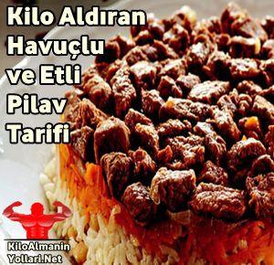 Bol Kalorili Havuçlu ve Etli Pilav Tarifi #havuçluetlipilav #kiloaldıranyemek