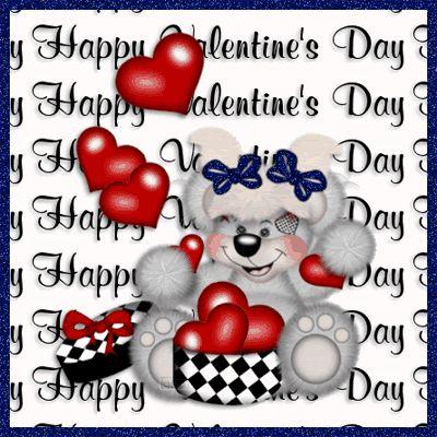Happy Valentine's Day Bear Graphic valentines day valentines day quotes happy valentines day valentines day pictures valentines day images valentines day comments valentines day gifs