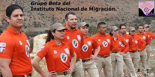 Los Grupos Beta, del Instituto Nacional de Migración, realizan un trabajo humanitario en las fronteras del territorio Mexicano.