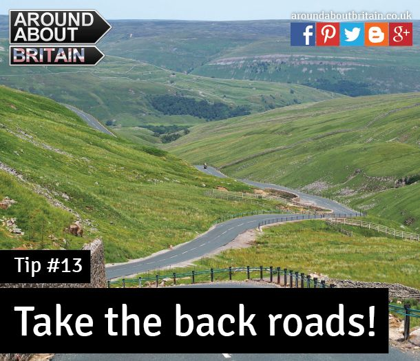 #Tip13 Take the back roads to discover villages, scenery & UK wildlife #Staycation