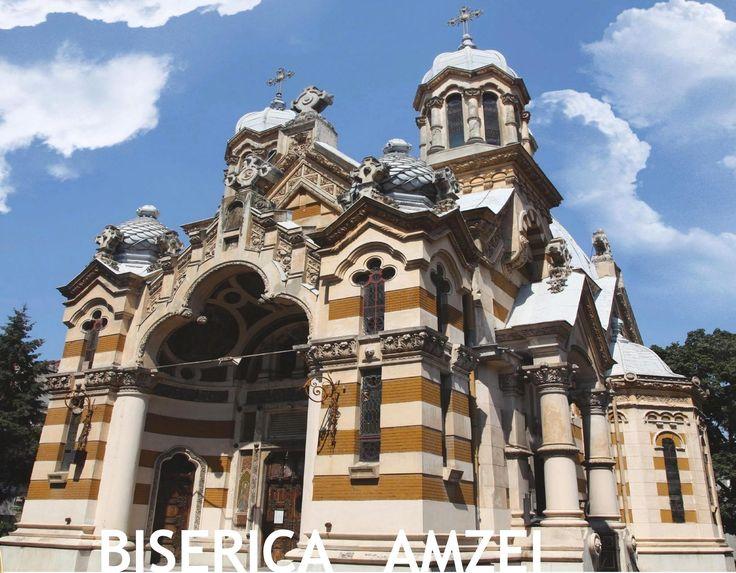 biserica amzei church orthodox bucuresti bucharest