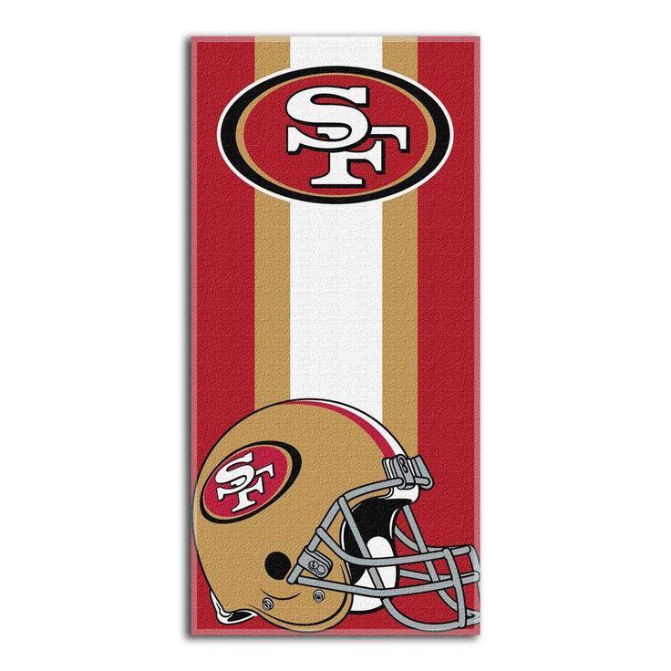 OneStopFanShop - San Francisco 49ers Beach Towel, $32.95 (https://www.onestopfanshop.com/nfl/san-francisco-49ers/san-francisco-49ers-beach-towel/)
