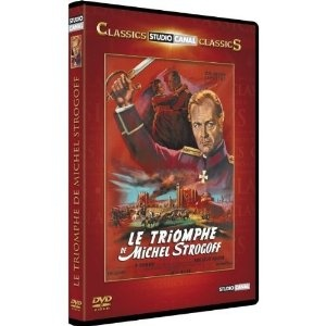 Le triomphe de michel strogoff / Region 2 PAL DVD / # Actors: Curd Jurgens, Capucine, Pierre Massimi / Director: Viktor Tourjansky / Universal Studio Canal Video - FRENCH ONLY OPTIONS / NO ENGLISH options $49