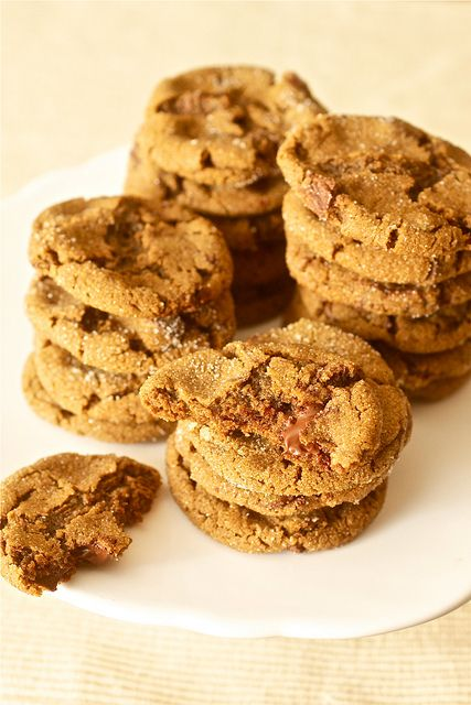 Chewy Chocolate Gingerbread Cookies by Smells Like Home, via Flickr