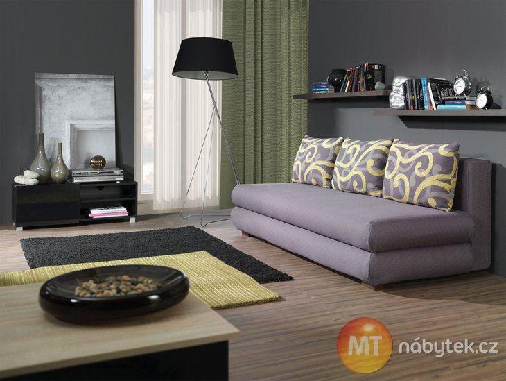 Moderní rozkládací pohovka na denní spaní Briana  #settee #sofa #divan #couch