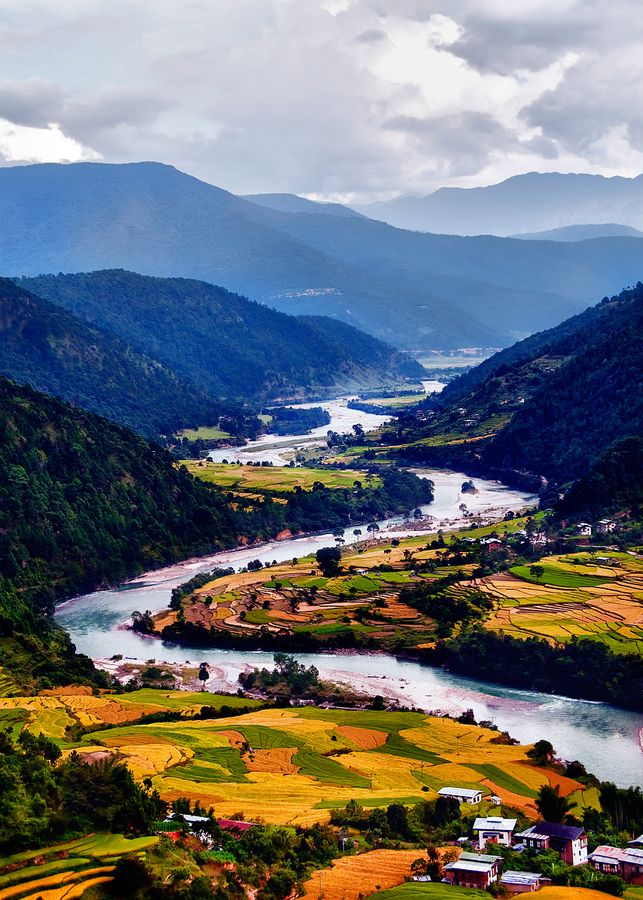 Bhutan. Television was introduced into the country in 1999. Bhutan still remains the purest (untouched) country. I'd like to visit before any of that changes!