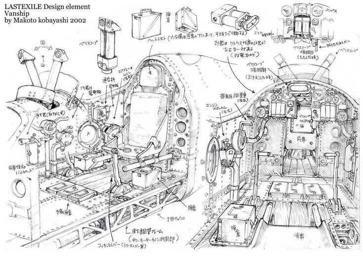 Rocketumblr | 小林誠 Makoto Kobayashi ラストエグザイル ヴァンシップ Last Exile...