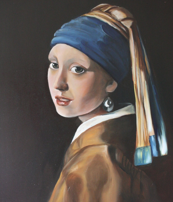 best girl the pearl earring of vermeer images on  girl pearl earring copy