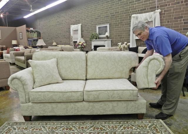 "Ready to Assemble (RTA) Apartment Size Sofa (Ashton Shown 76"").  Assemble in 15…"