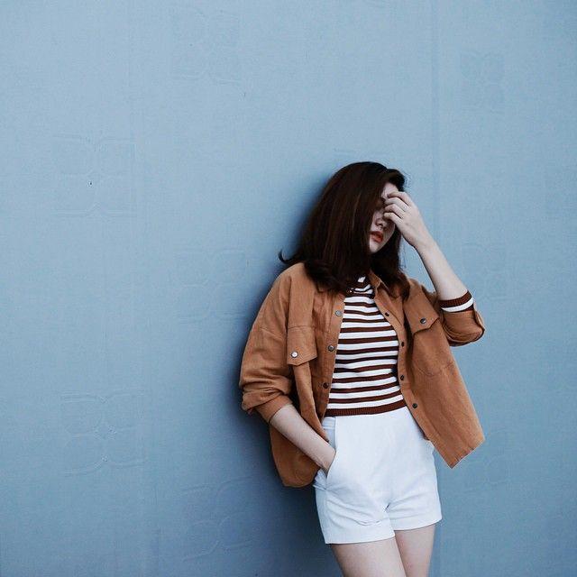 •Jacket & sweater : @dottiestore