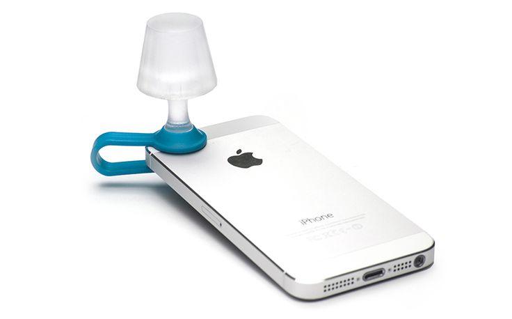 -smartphone --A mini bedside lamp to accompany reading