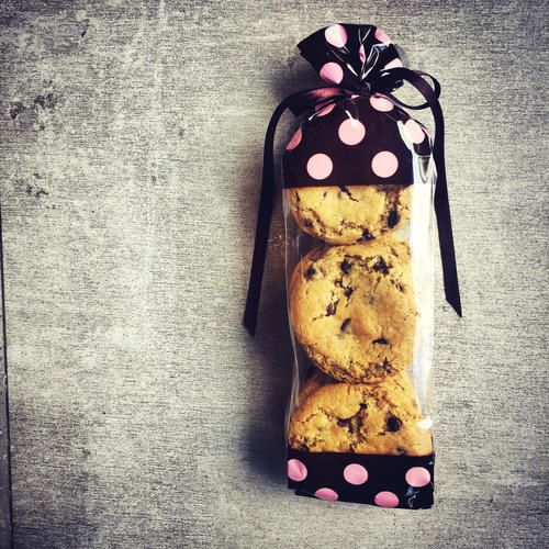 Chocolate Chip Cookie Bags