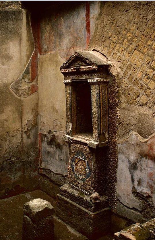 House of the Skeleton. Herculaneum, Italy