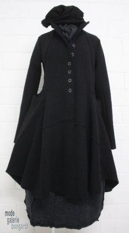 www.modegalerie-bongardt.de - rundholz mode, rundholz black label, Rundholz DIP Rundholz black label winter 2014, great jacket/coat bell-sha...