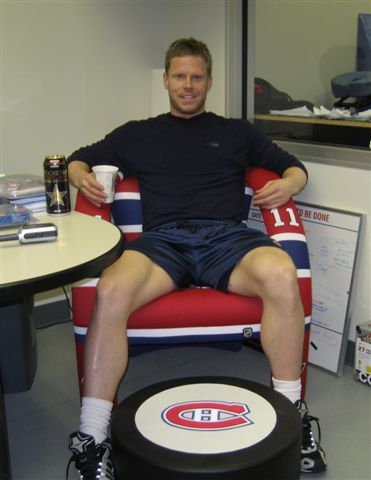 Montreal Canadiens Saku Koivu