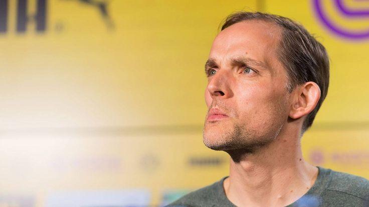 """""""Heute ist mein schlimmster Tag""""  In einem ganz starken und hochemotionalen Auftritt beschreibt Thomas Tuchel, wie er den Anschlag erlebt hat. Über den verletzten Marc Bartra konnte der BVB-Trainer sogar schon wieder scherzen!"""