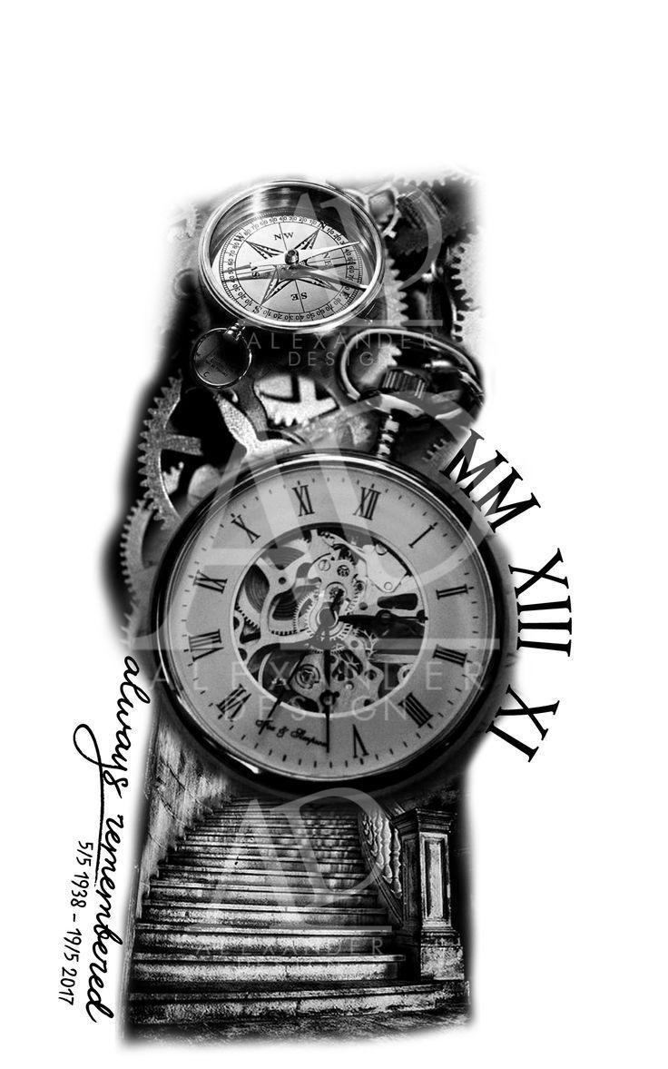 Ärmelloses Tattoo-Design für Männer und Frauen. Design und Layout stammen von mir …. #Tattoos