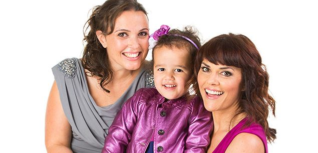 "Shortland Street stars reveal ""I have two mums!"""