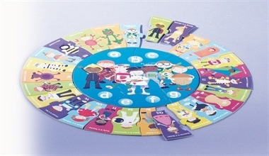 Alphabet Puzzle. Learn the alphabet the funway! 36 pieces.