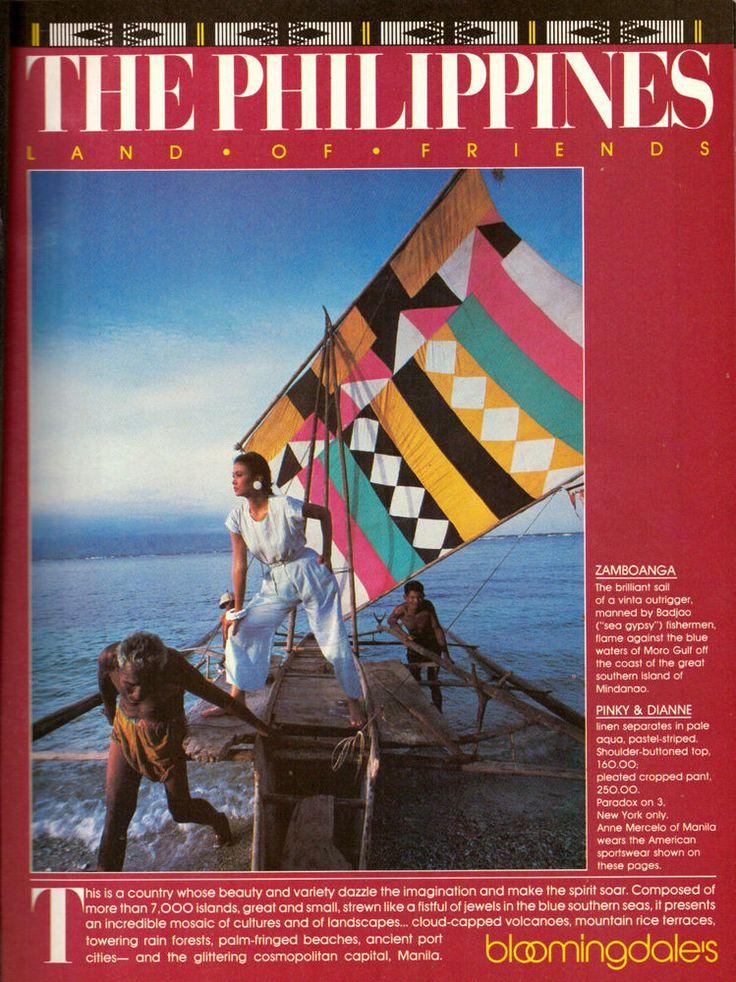 1982 Bloomingdale's The Philippines Magazine  Print Ad Vintage Advertisement 80s | eBay
