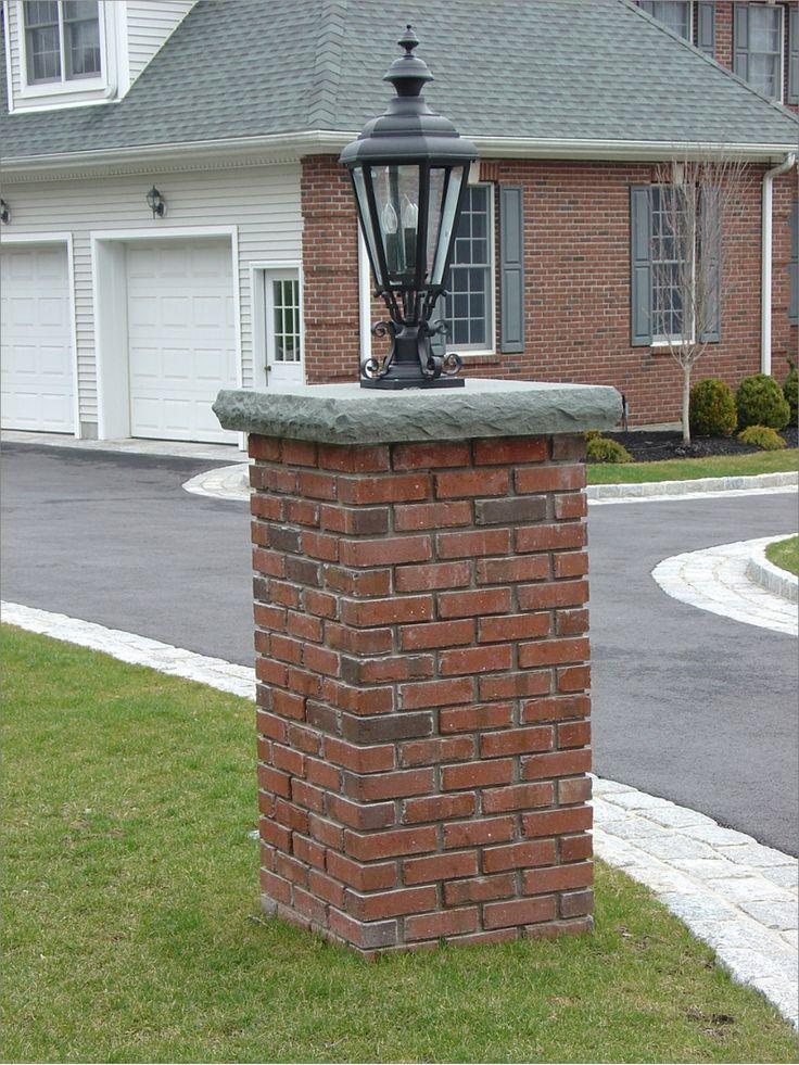 9 Best Brick Pillars Images On Pinterest Brick Bricks