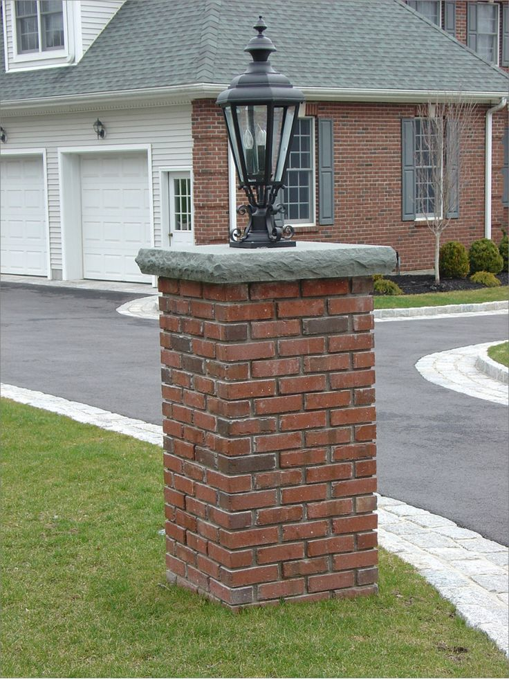 A Bit Too Tall Another Example Of A Brick Column The
