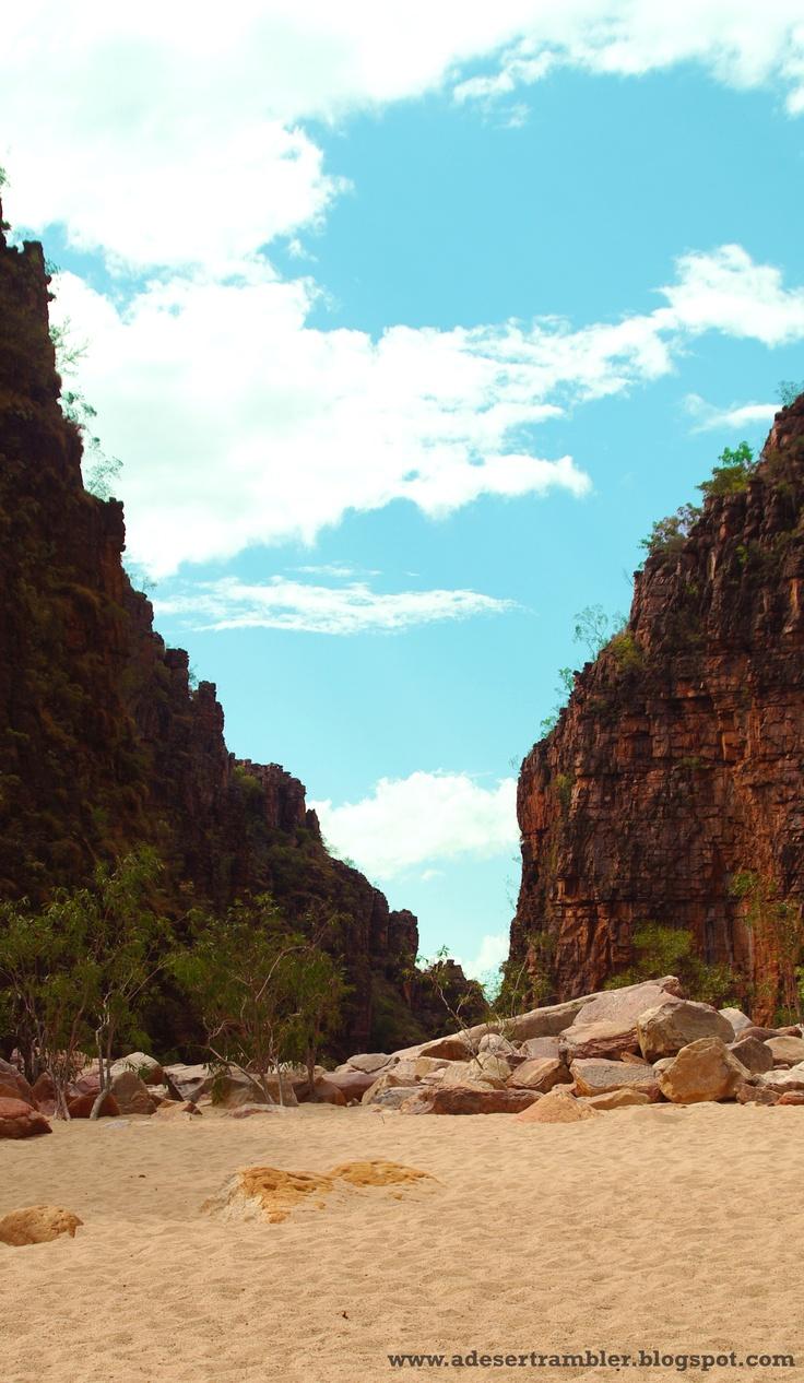 Twin Falls (in the dry season), Kakadu National Park, Australia.