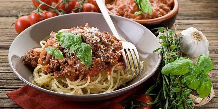 KochAbo.at - Handgemachte Spaghetti alla Bolognese