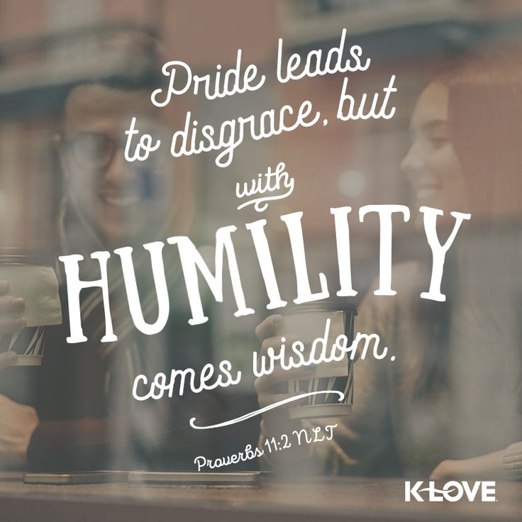 #VOTD #scripture #pride #humility #wisdom